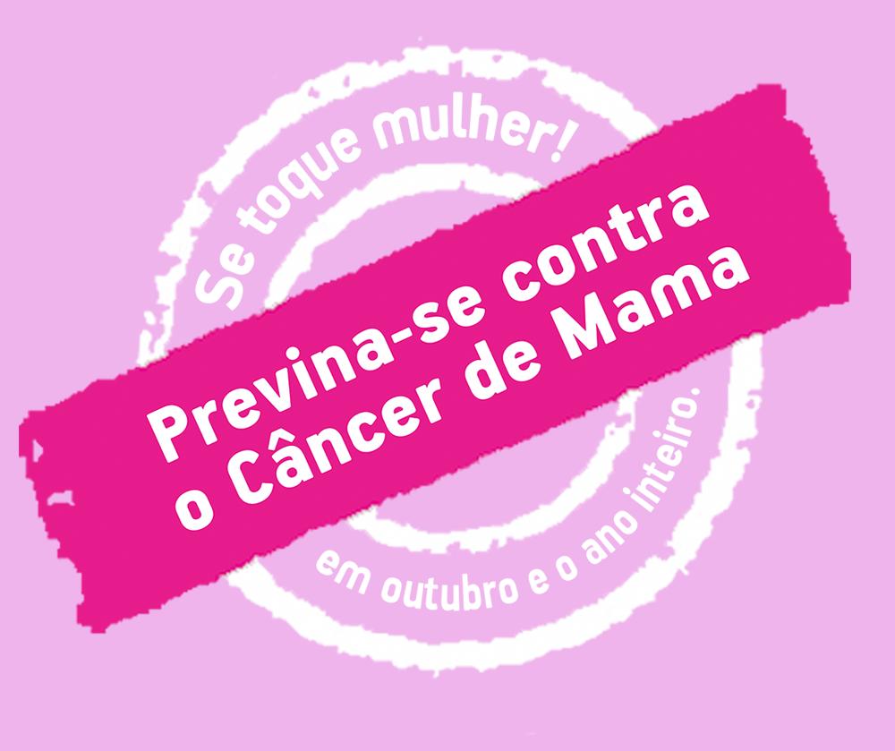 Resultado de imagem para campanha contra o cancer de mama